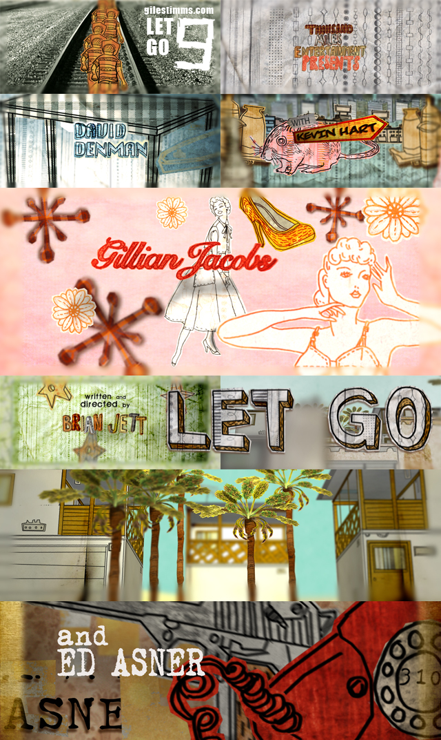 Animated Opening Title Sequence and Animated Time-Lapse Interstitials for 'Let Go' 2011